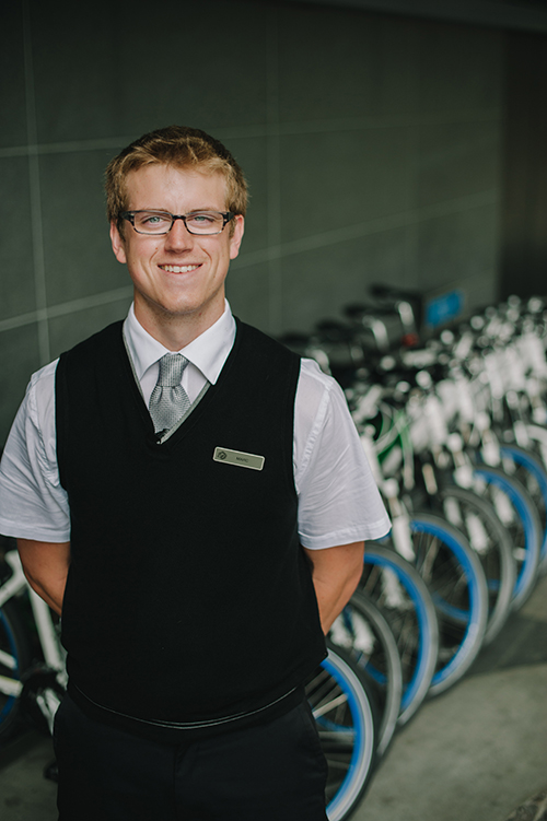 Fairmont Pacific Rim Bike Butler